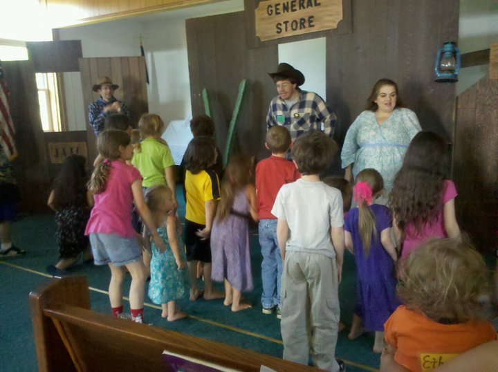 gold rush vbs pictures. of VBS at the Gold Rush in